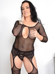 Isabella Madison wearing sexy lingerie